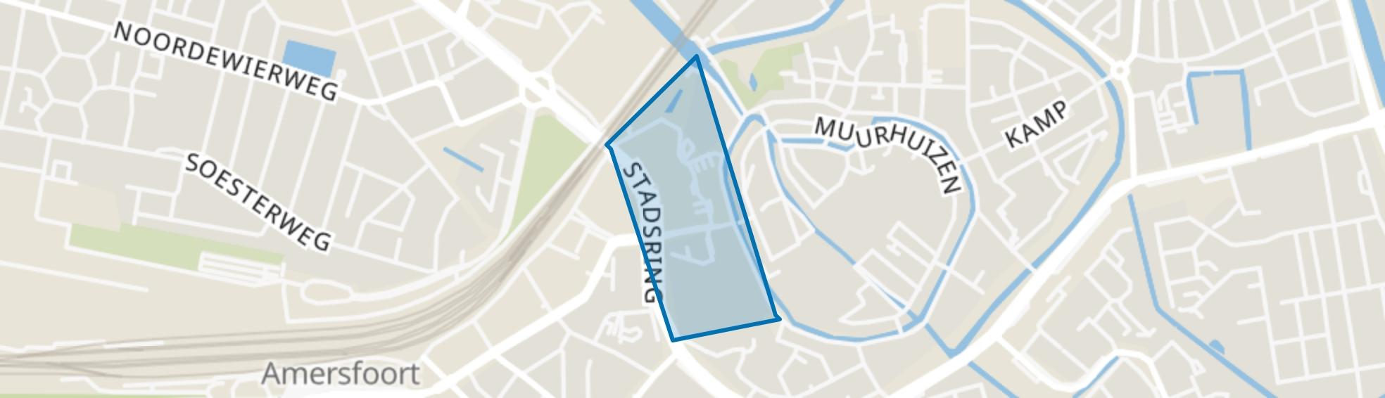 Stadhuisplein, Amersfoort map