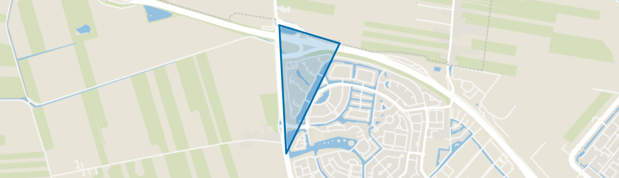 Stadstuin, Amersfoort map