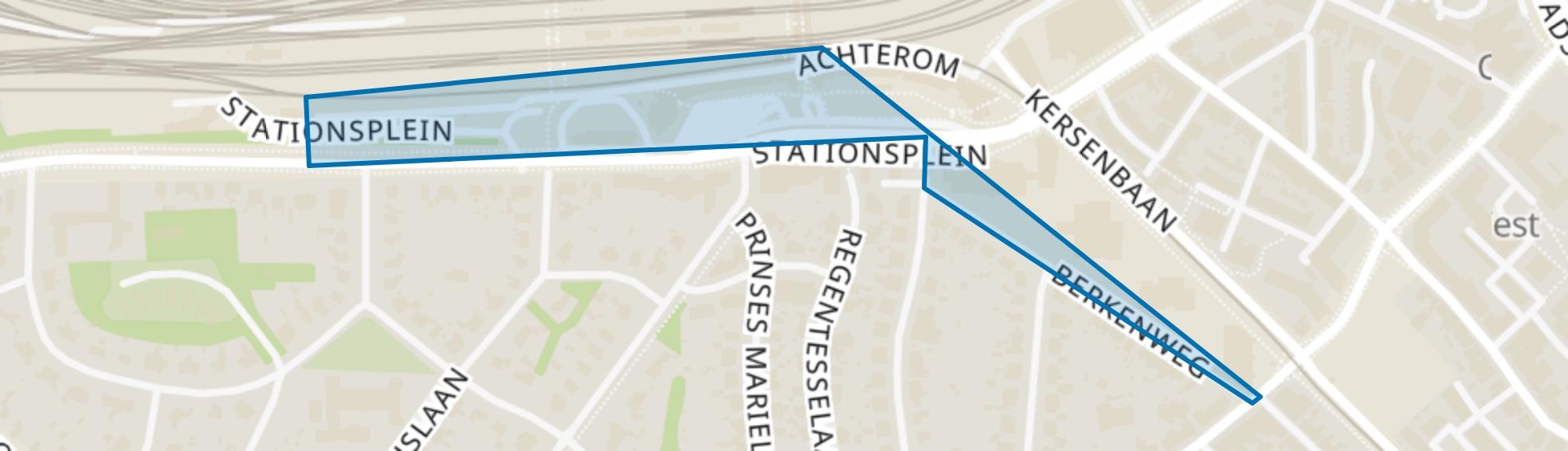 Station Berkenweg, Amersfoort map