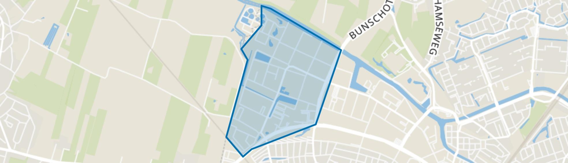 Uraniumweg, Amersfoort map