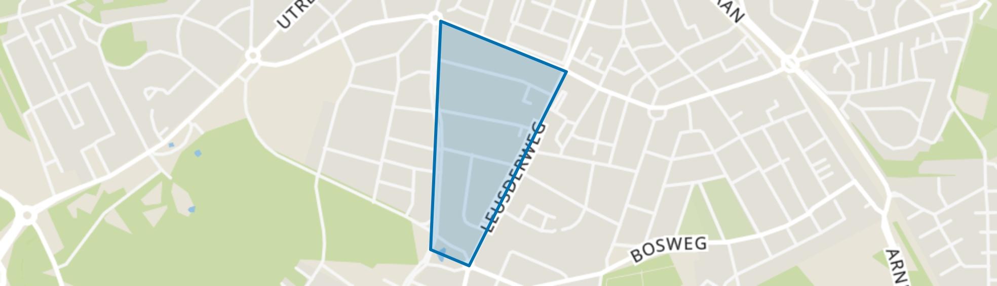 Verhoevenstraat, Amersfoort map