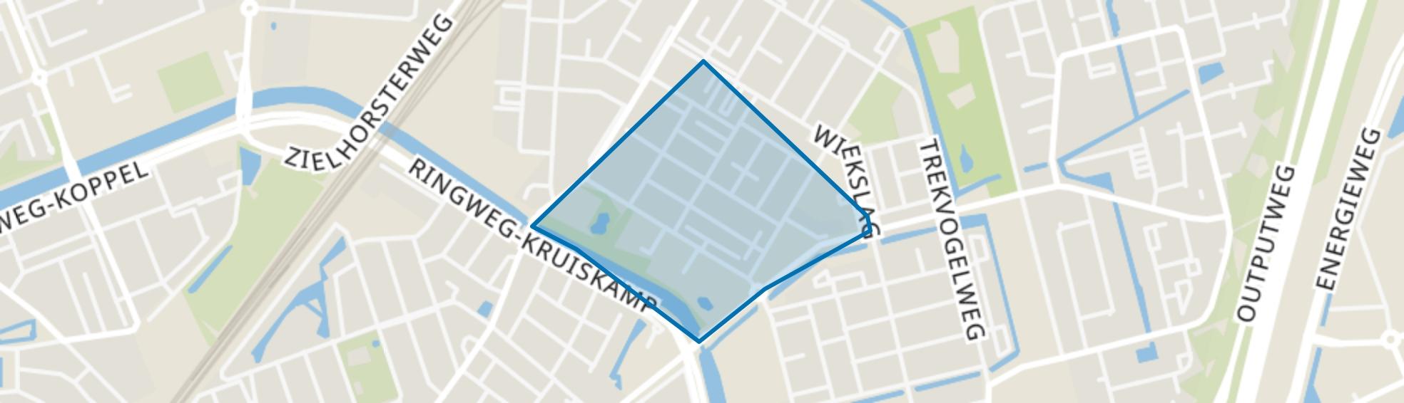 Vinkenbaan, Amersfoort map