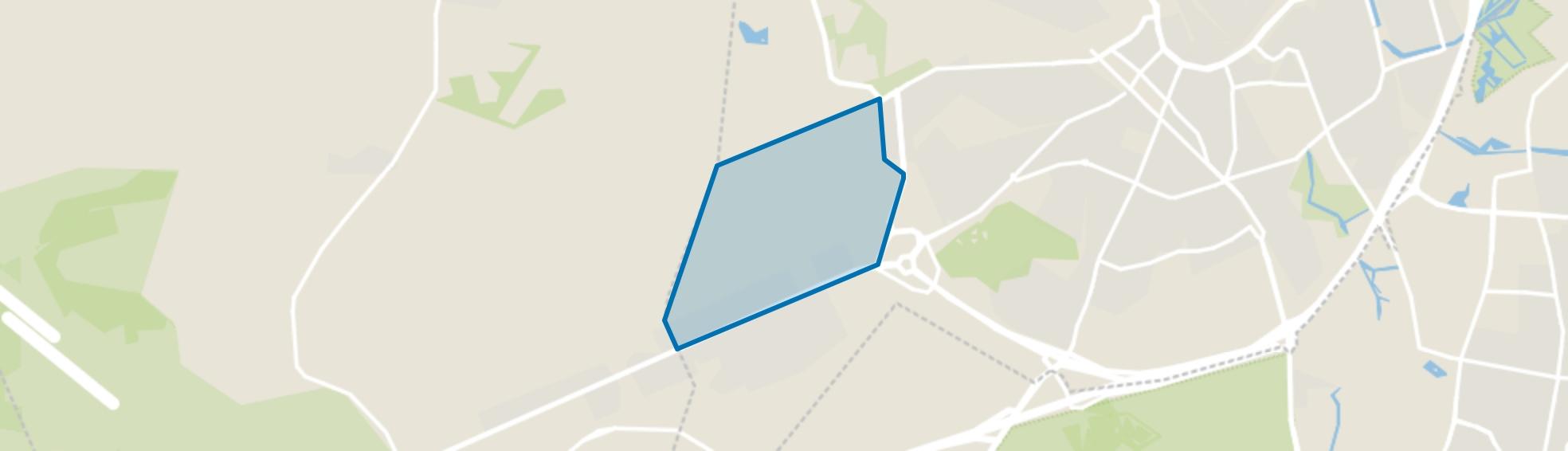 Vlasakkers, Amersfoort map