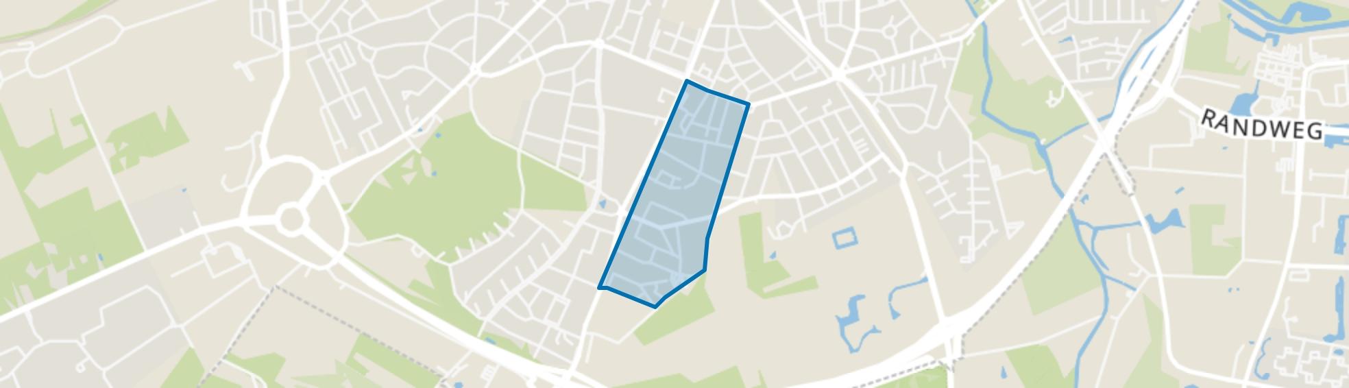 Voltastraat, Amersfoort map
