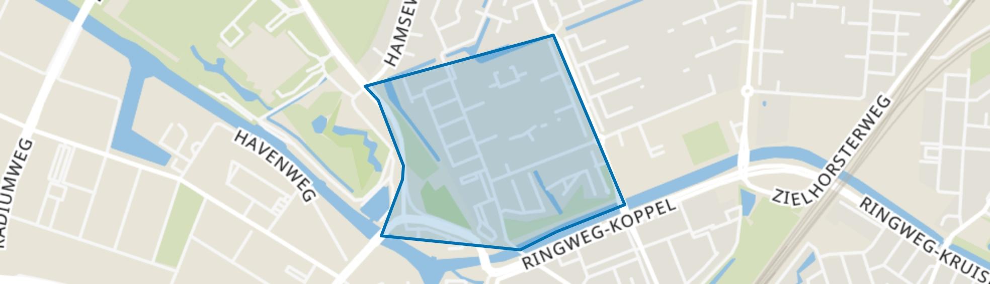 Vuurtoren, Amersfoort map