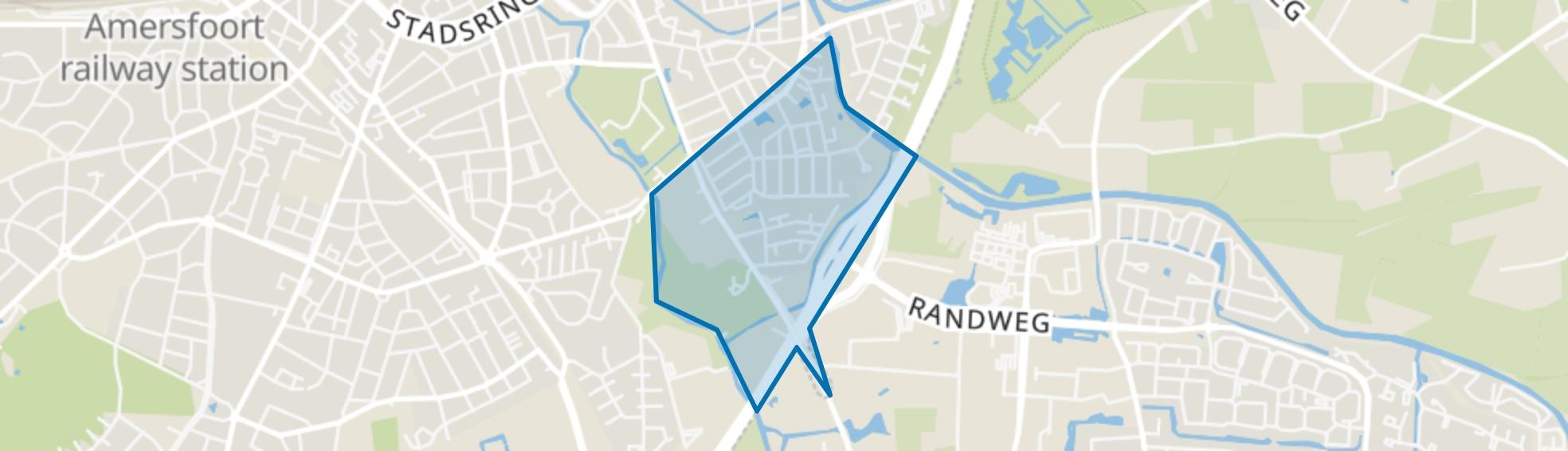 Weberstraat, Amersfoort map