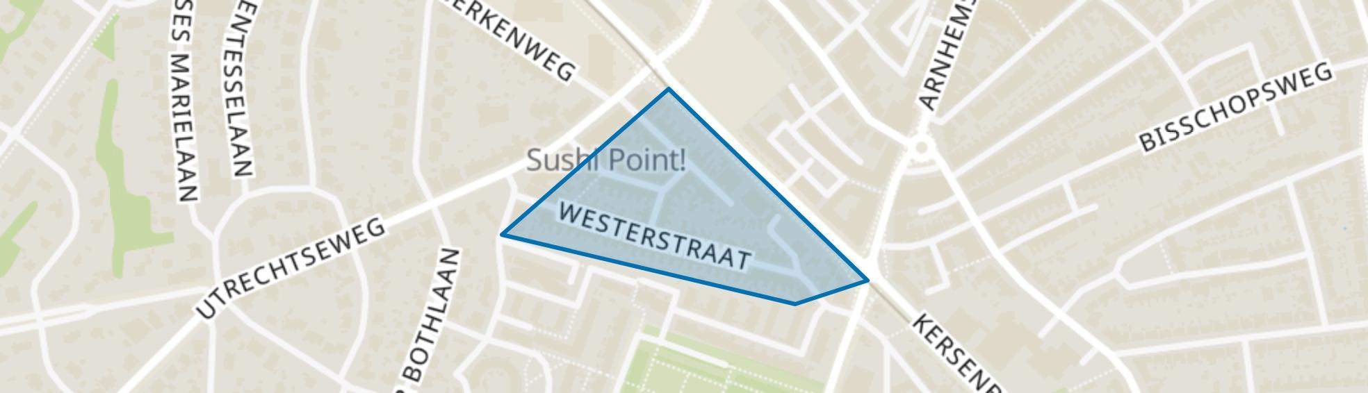 Westerstraat, Amersfoort map