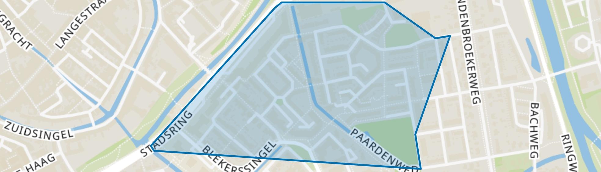 Willem III, Amersfoort map