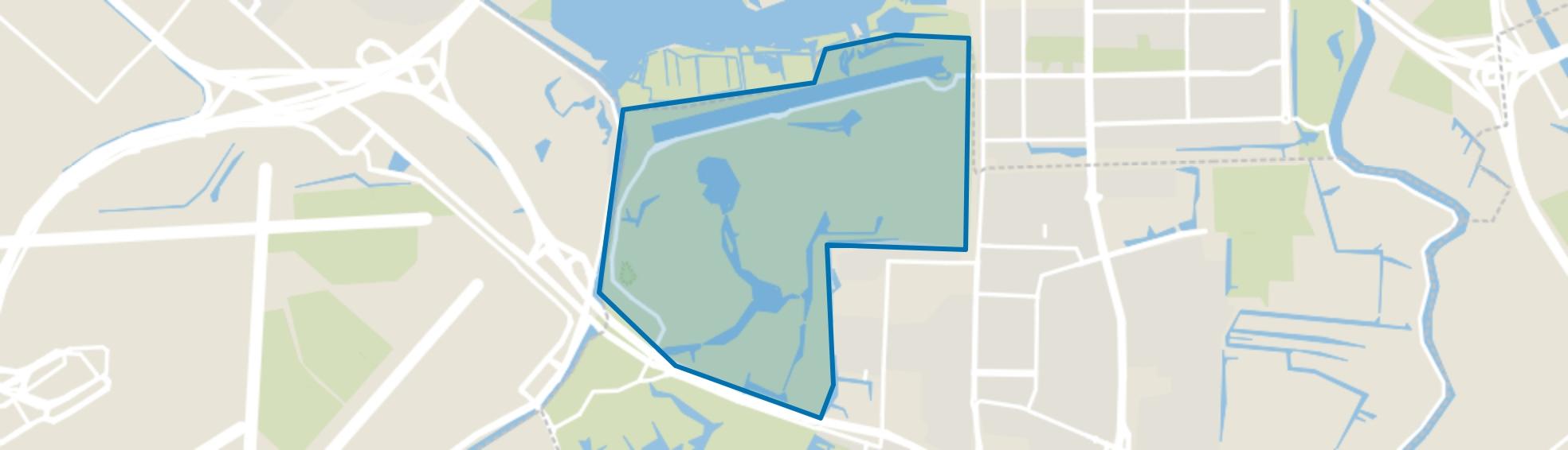Amsterdamse Bos Noord, Amstelveen map