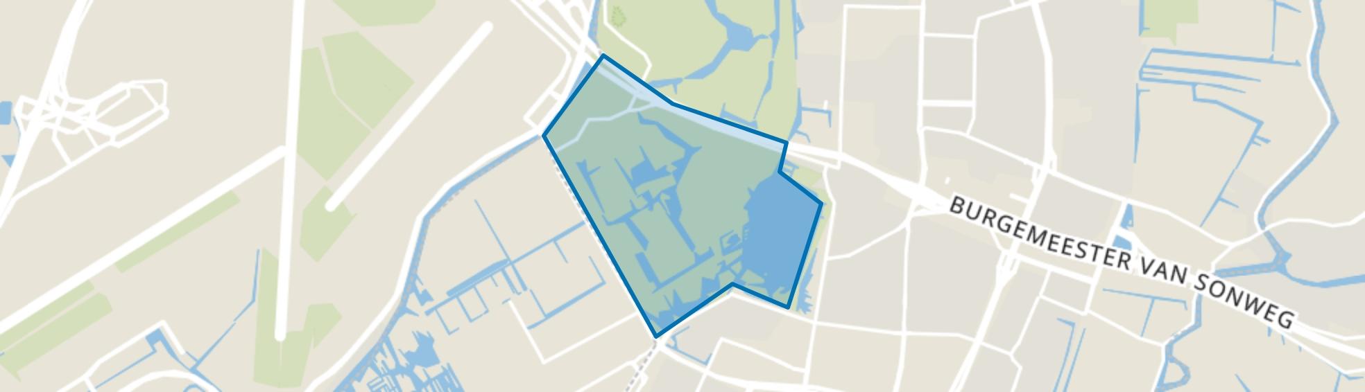 Amsterdamse Bos Zuid, Amstelveen map