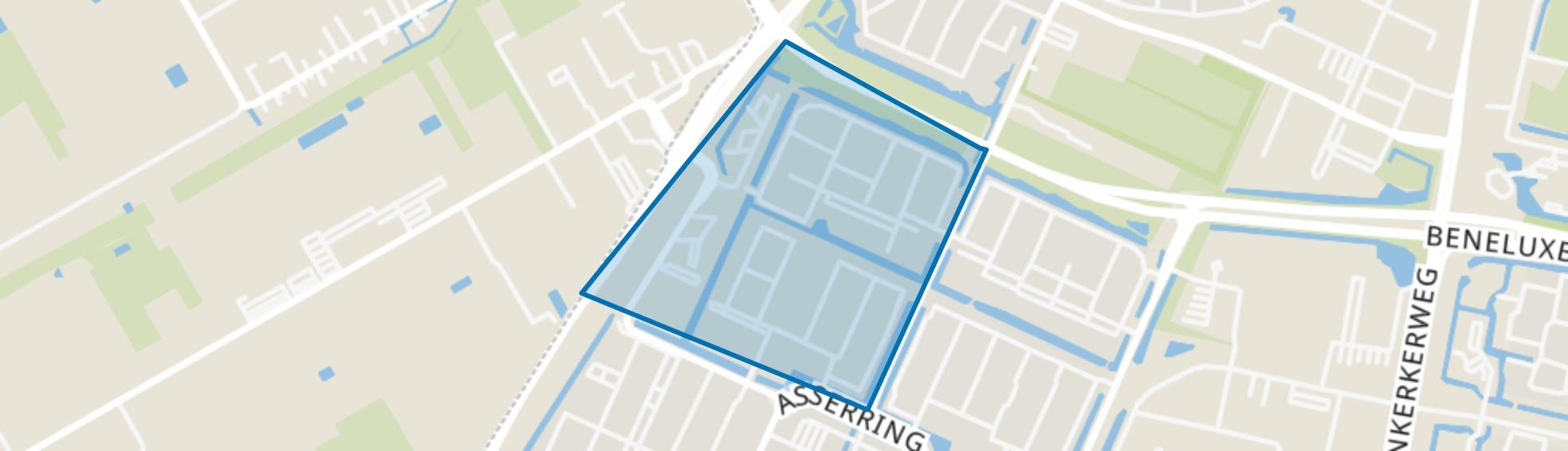 Buitenplaatsenbuurt, Amstelveen map