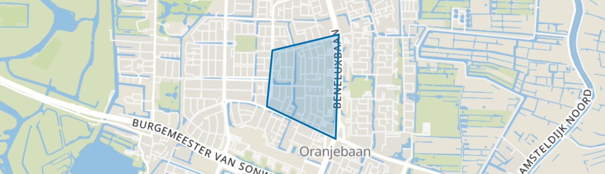 Elsrijk Oost, Amstelveen map