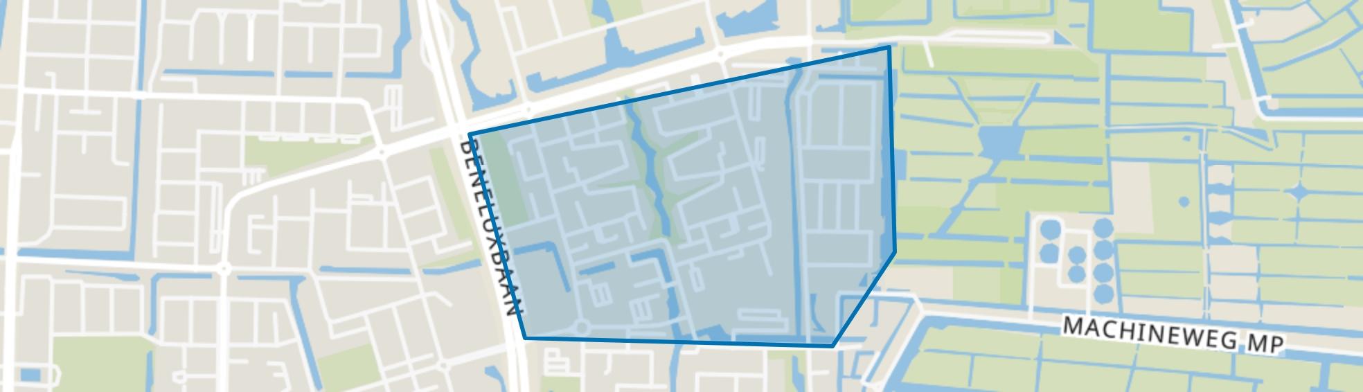 Heldenbuurt, Amstelveen map