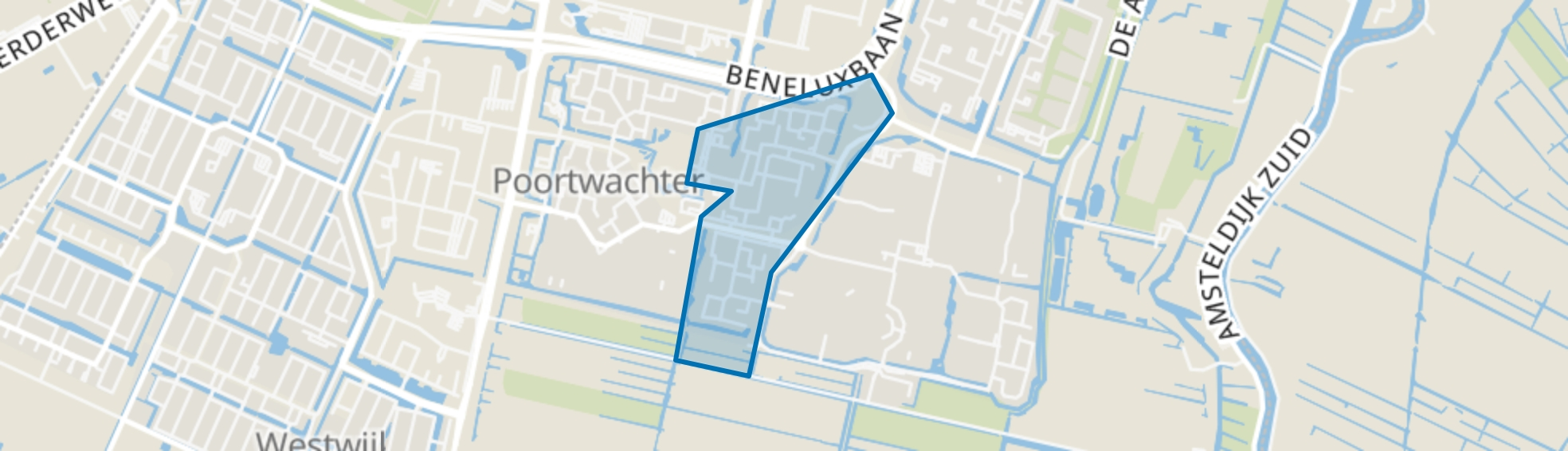 Hemellichamenbuurt, Amstelveen map