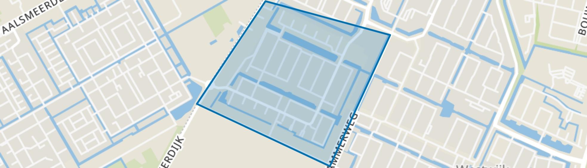 Kastelenbuurt, Amstelveen map