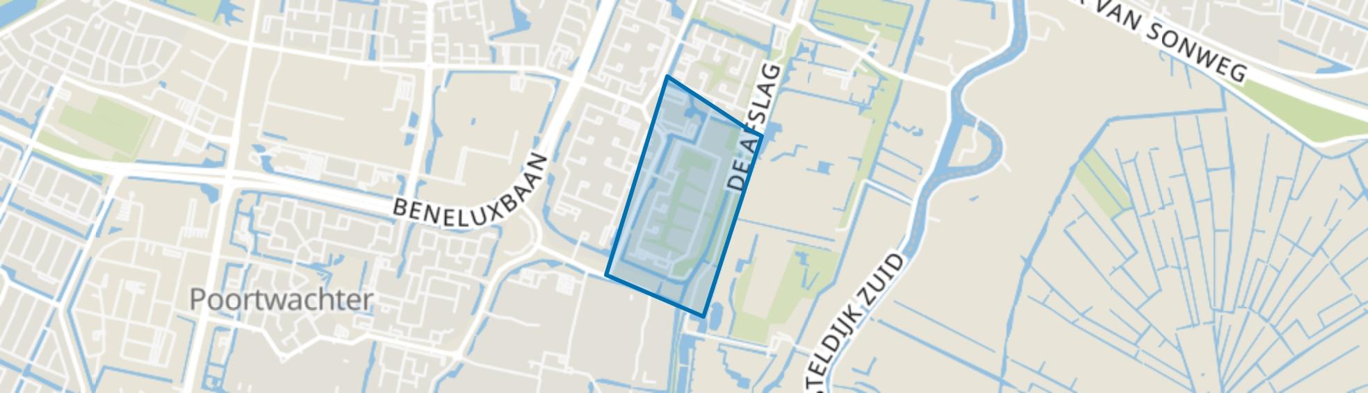 Kringloopbuurt, Amstelveen map