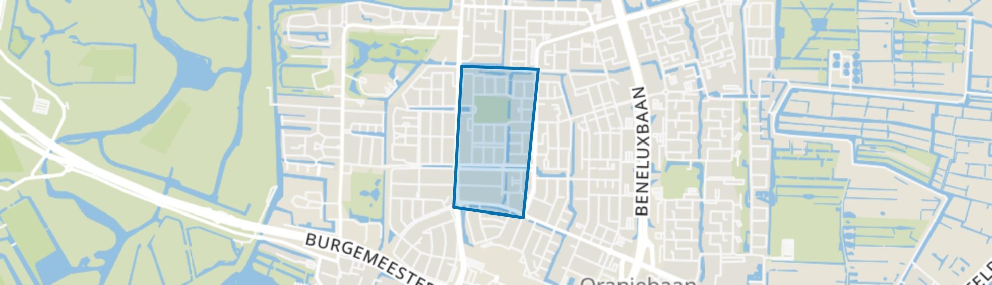 Kruiskerkbuurt, Amstelveen map