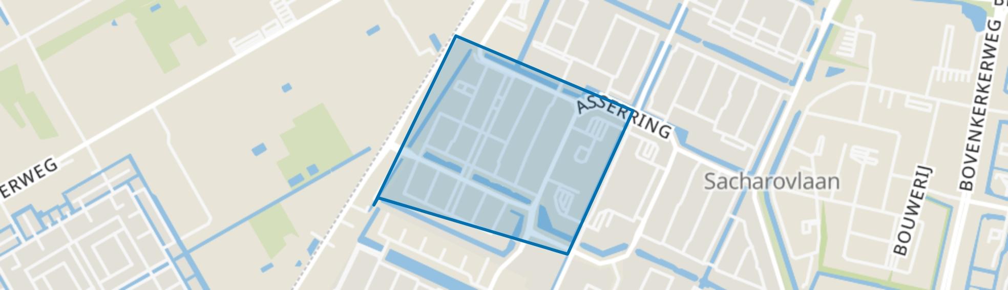 Landschappenbuurt, Amstelveen map