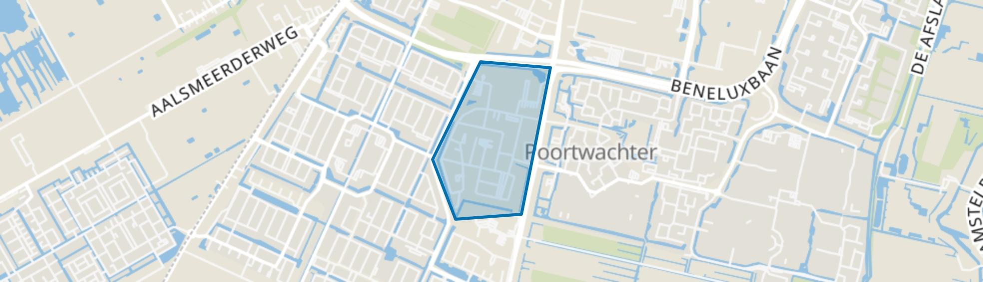 Legmeer, Amstelveen map