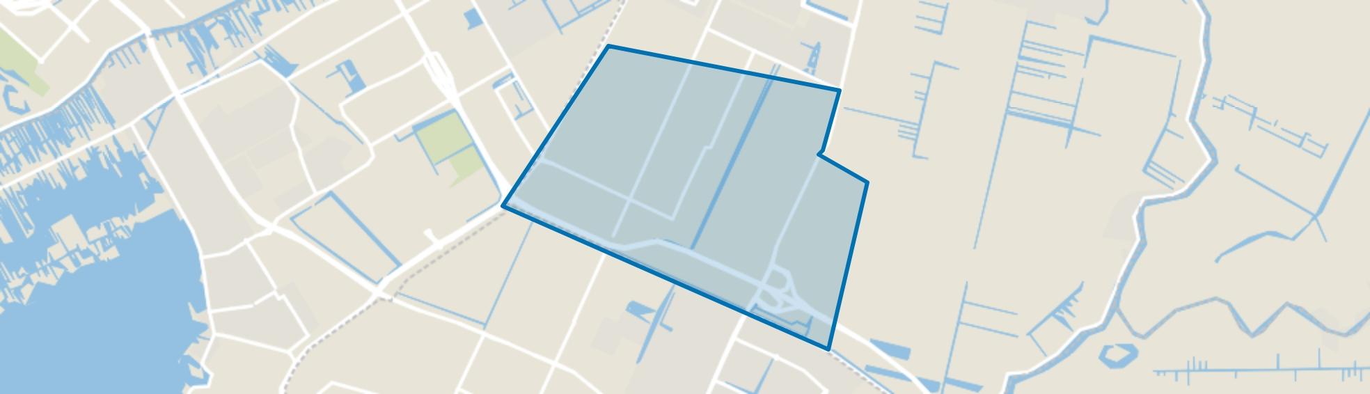 Legmeerpolder, Amstelveen map