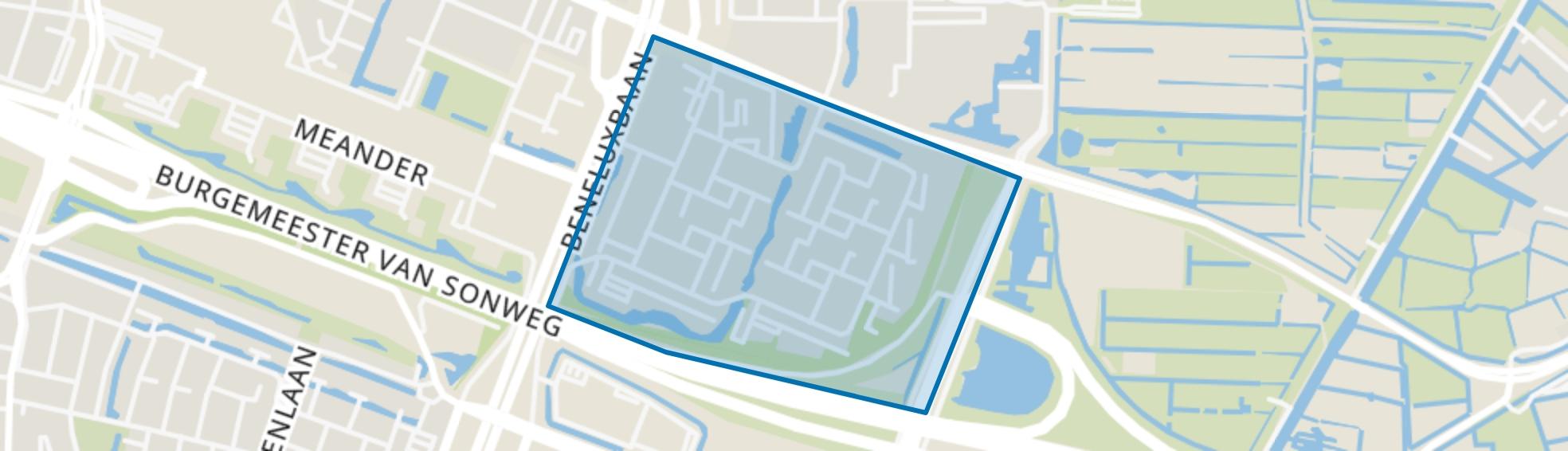 Operabuurt, Amstelveen map