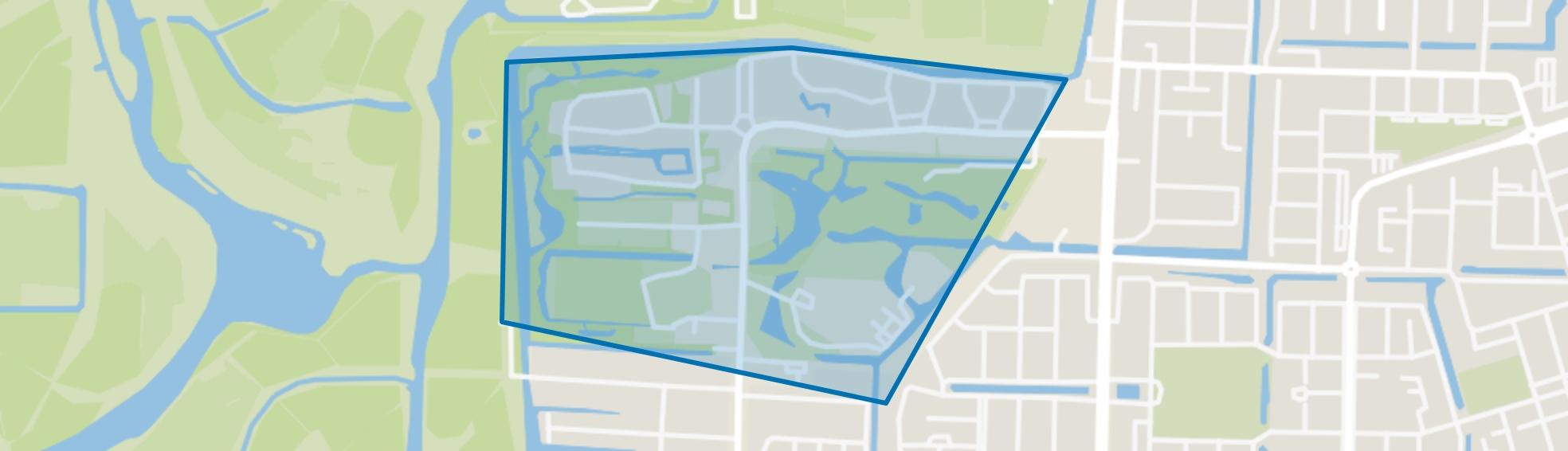 Oranjebuurt, Amstelveen map