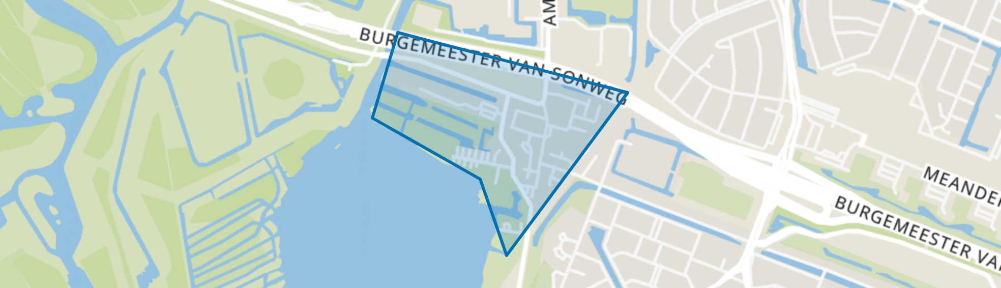Oude Dorp, Amstelveen map