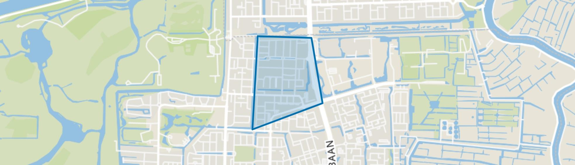 Randwijck Oost, Amstelveen map
