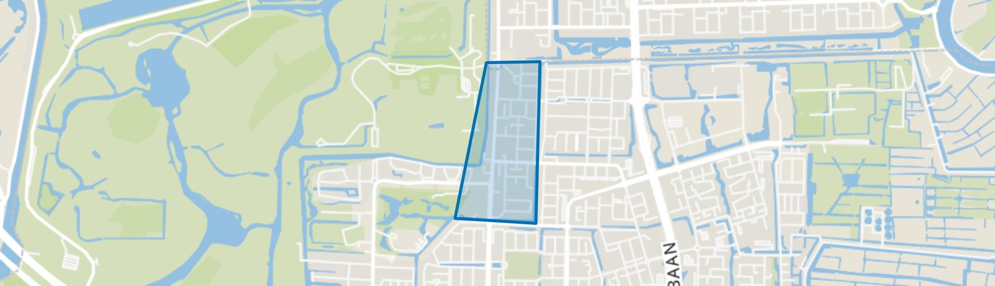 Randwijck West, Amstelveen map