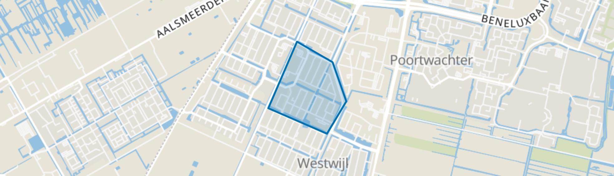 Theaterbuurt, Amstelveen map