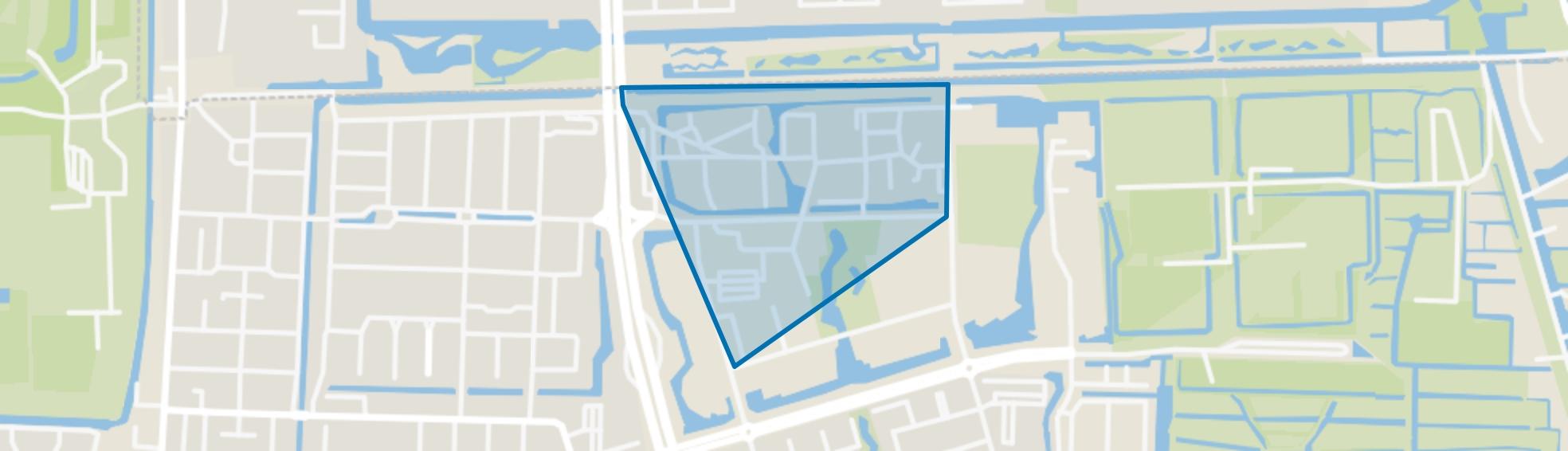 Uilenstede, Amstelveen map