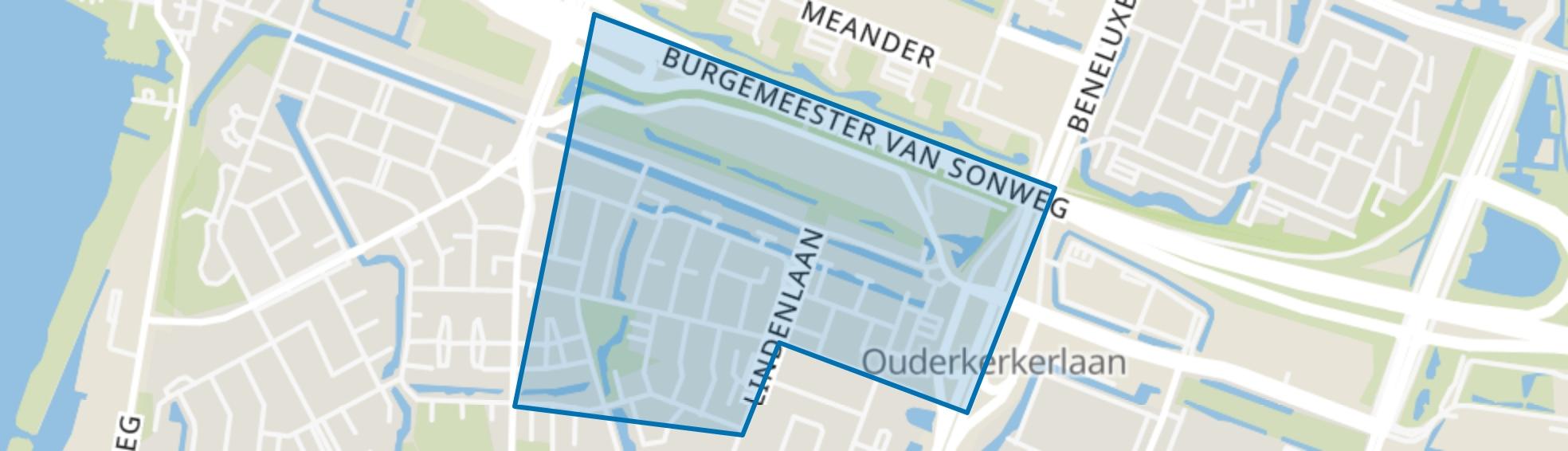 Van der Leekbuurt, Amstelveen map