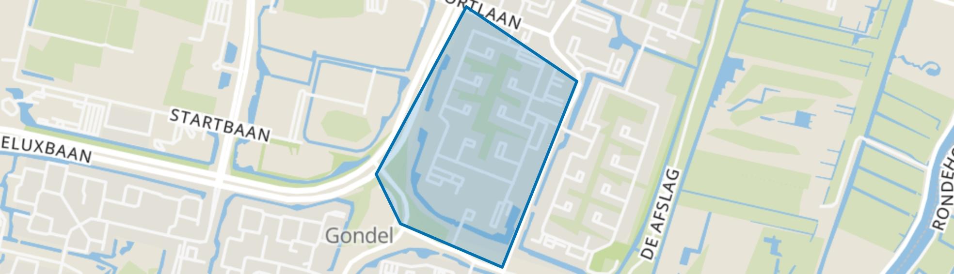 Watercirkelbuurt, Amstelveen map