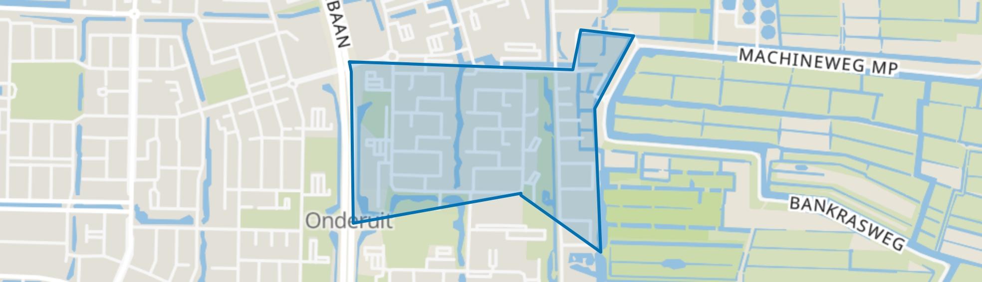 Zeestratenbuurt, Amstelveen map