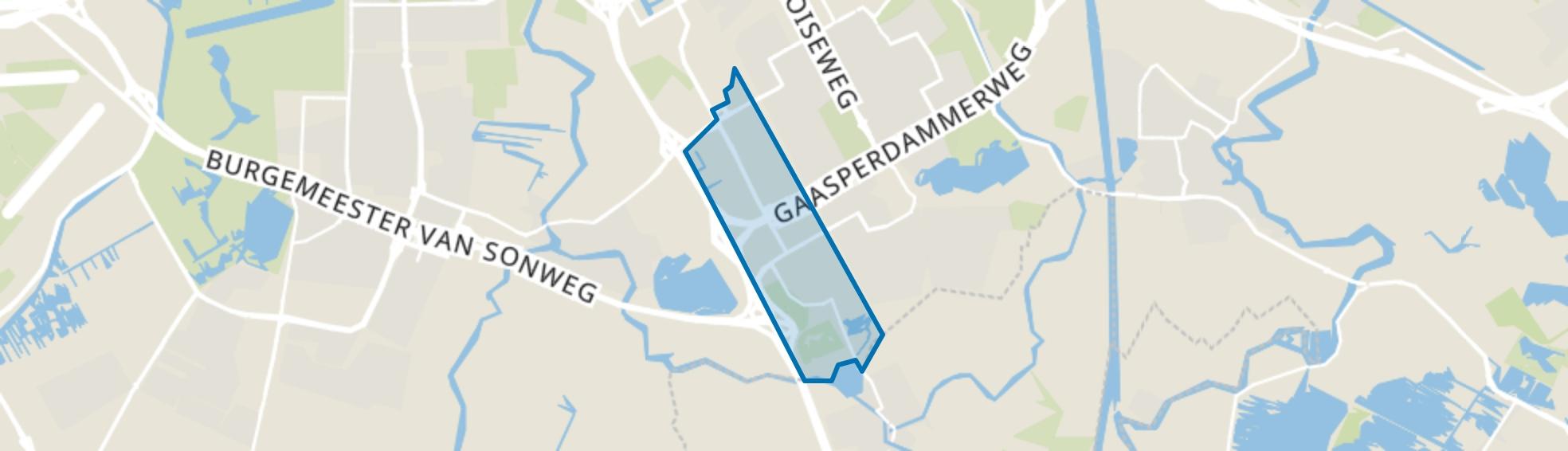 Amstel III/Bullewijk, Amsterdam map