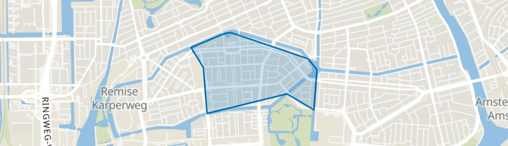 Apollobuurt, Amsterdam map