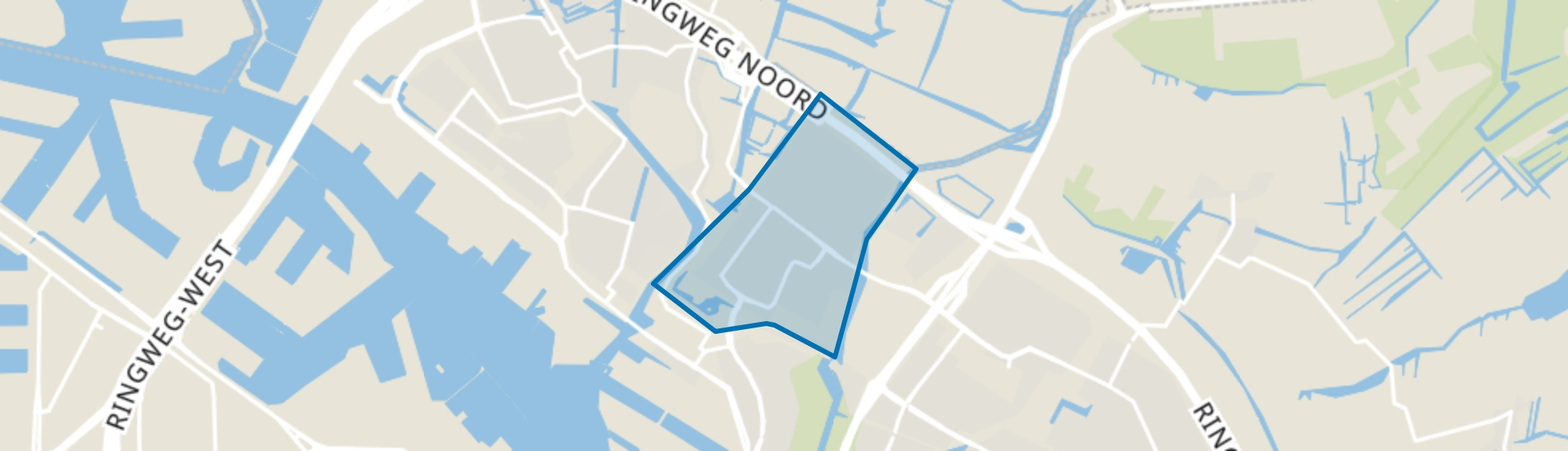 Banne Buiksloot, Amsterdam map