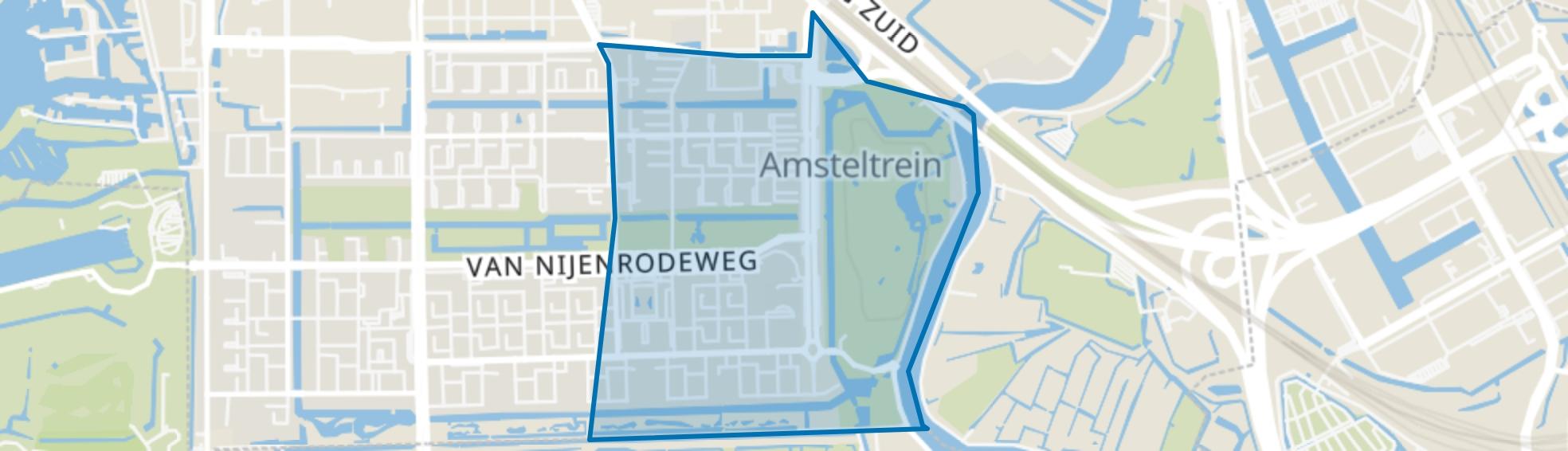 Buitenveldert-Oost, Amsterdam map
