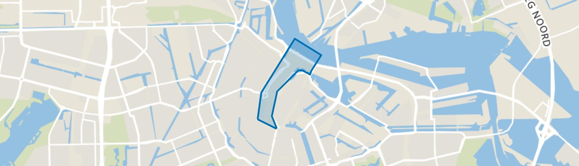 Burgwallen-Nieuwe Zijde, Amsterdam map