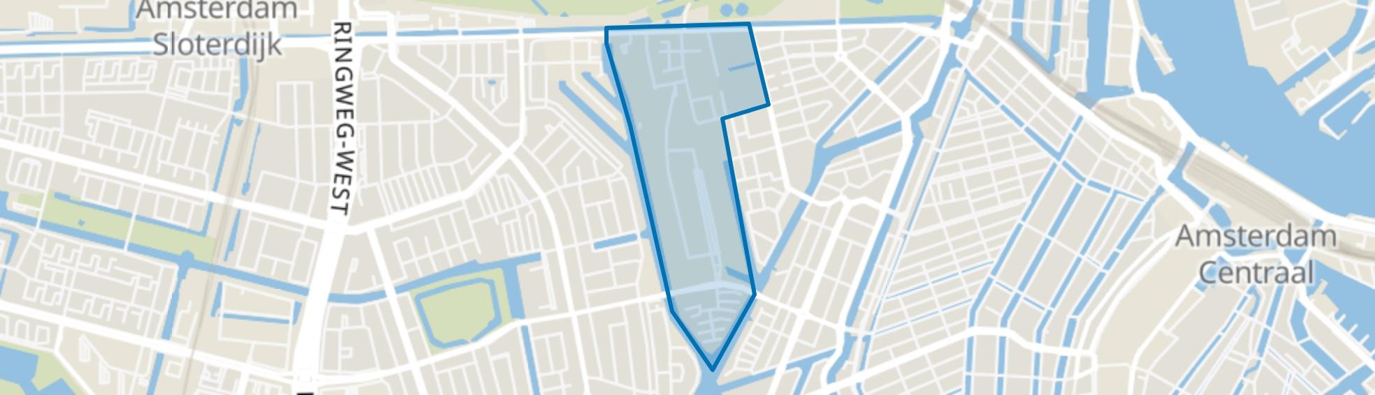 Centrale Markt, Amsterdam map