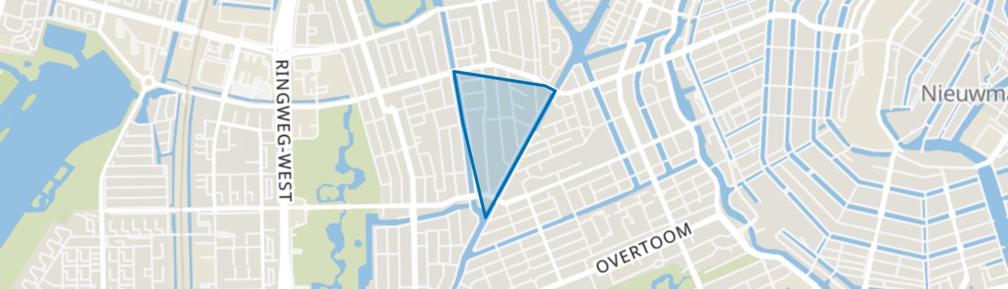 Chassébuurt, Amsterdam map