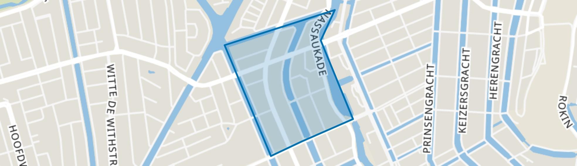 Da Costabuurt, Amsterdam map