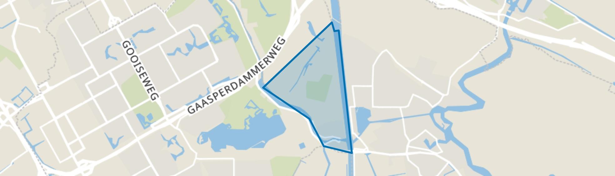 Driemond, Amsterdam map