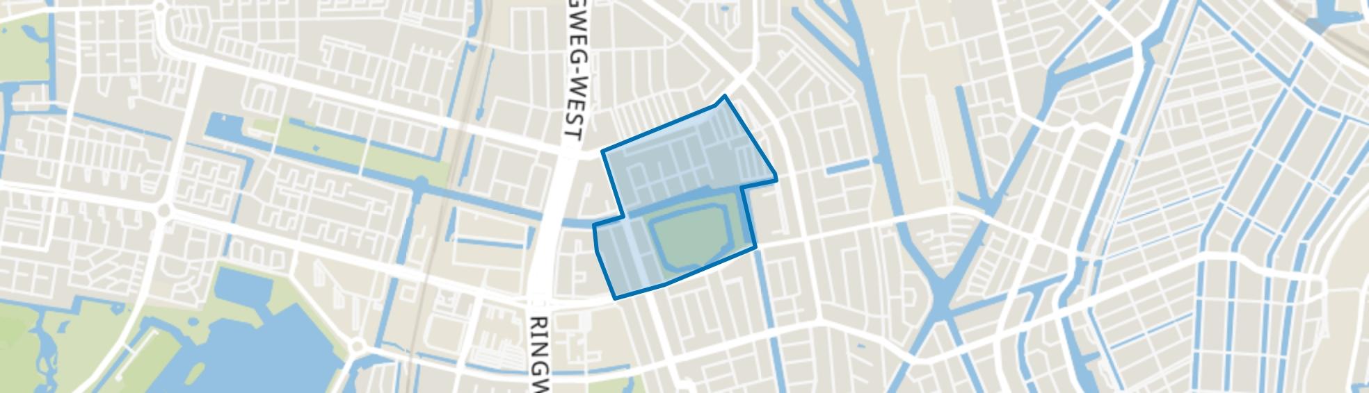 Erasmuspark, Amsterdam map