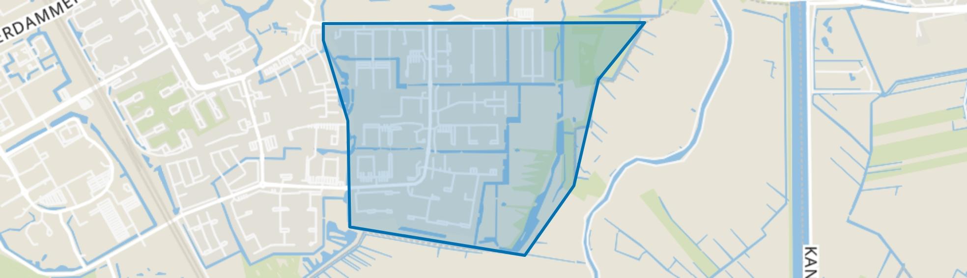 Gein, Amsterdam map