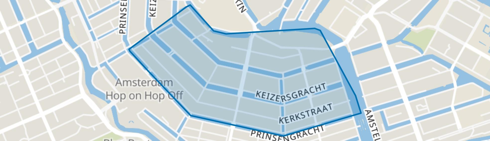 Grachtengordel-Zuid, Amsterdam map