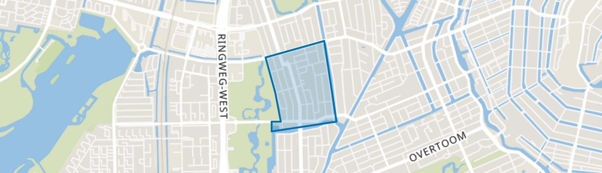 Hoofdweg e.o., Amsterdam map