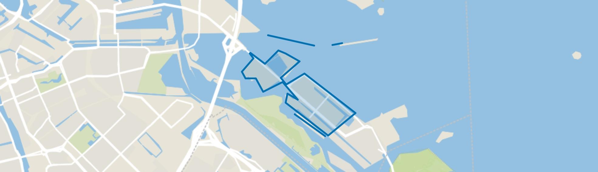 IJburg West, Amsterdam map