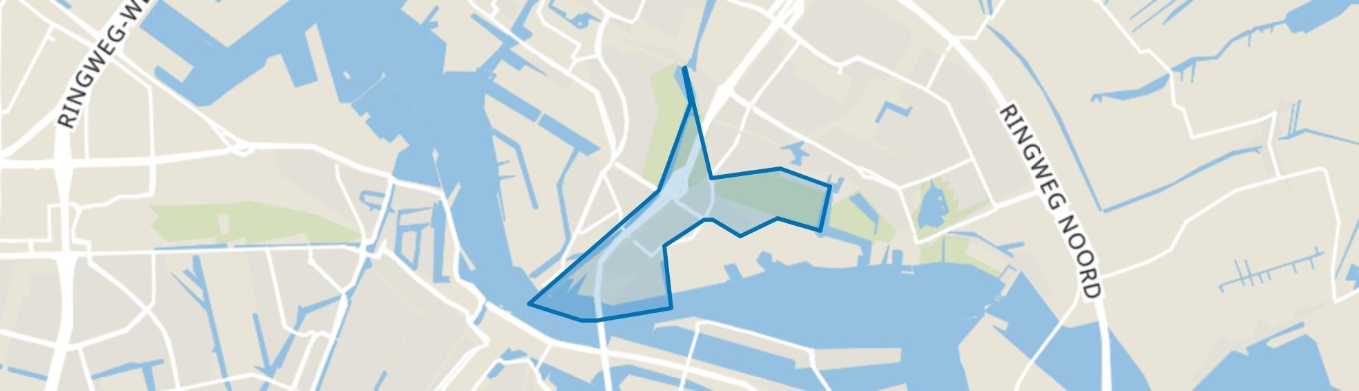 IJplein/Vogelbuurt, Amsterdam map