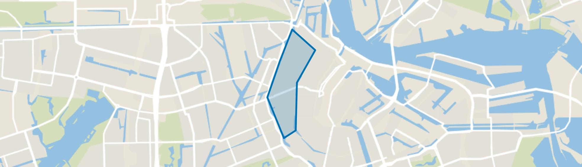 Jordaan, Amsterdam map